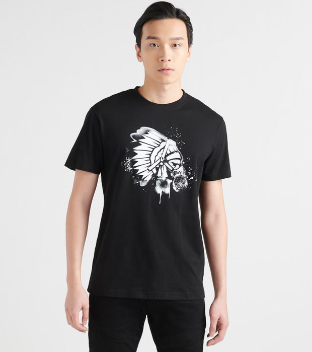 Hustle Gang  Masque Chief Tee  Black - 2919205-BLK | Jimmy Jazz