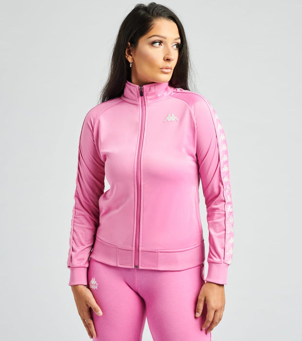 Kappa  222 Banda Wanniston Slim Track Jacket  Pink - 301PSC0-C63 | Jimmy Jazz