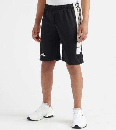 Kappa  222 Banda Arawa Short  Black - 303WBR0Y-A08 | Jimmy Jazz