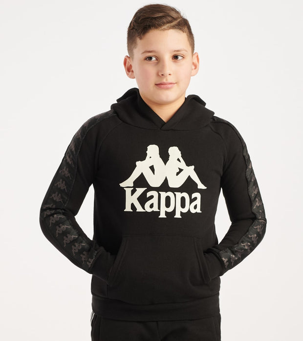 Kappa  Boys 3-12 222 Banda Hurtado  Black - 303WH20Y-A0M | Jimmy Jazz