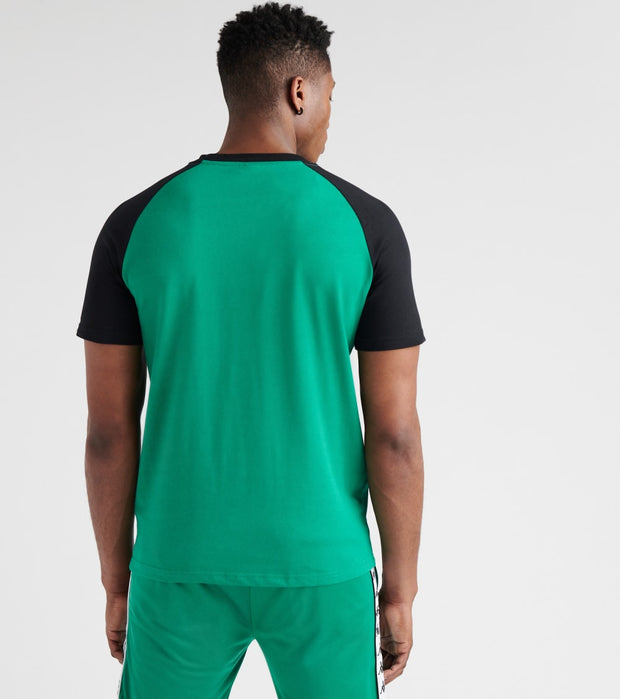 Kappa  Authentic Baria Tee  Green - 304ICQ0-907 | Jimmy Jazz