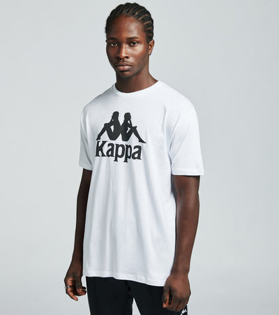 Kappa  Authentic Estessi Tee  White - 304KPT0-904 | Jimmy Jazz