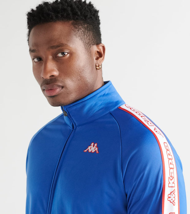 Kappa  Logo Tape Artem Track Jacket  Blue - 304LS90-907 | Jimmy Jazz