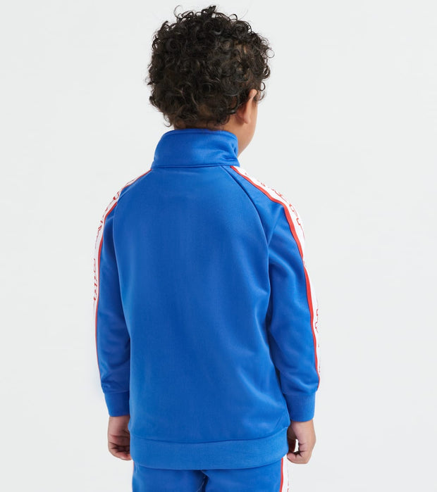Kappa  3-12 Retro Logo Tape Artem Jacket  Blue - 304LS90Y-907 | Jimmy Jazz