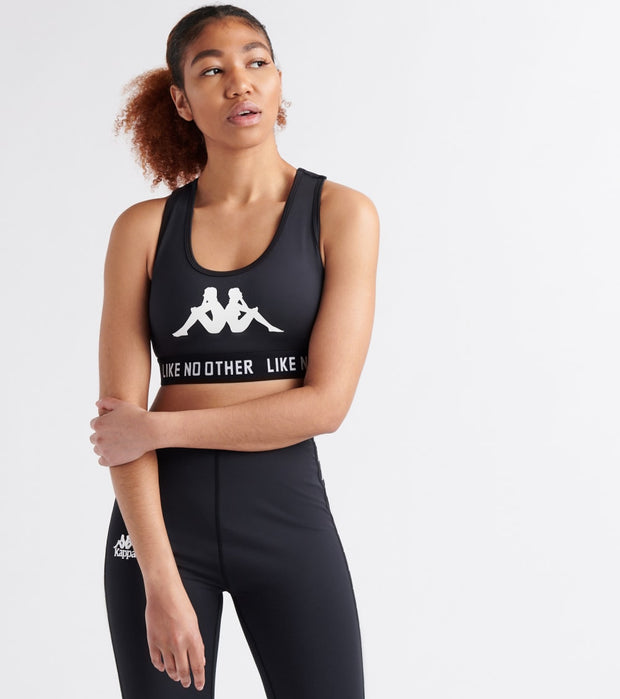Kappa  Authentic Besunny Sports Bra  Black - 304LVZ0-005 | Jimmy Jazz