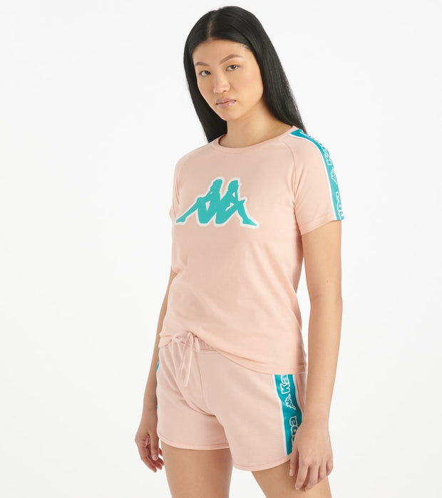 Kappa  Logo Tape Amie Top  Pink - 304M530-928 | Jimmy Jazz
