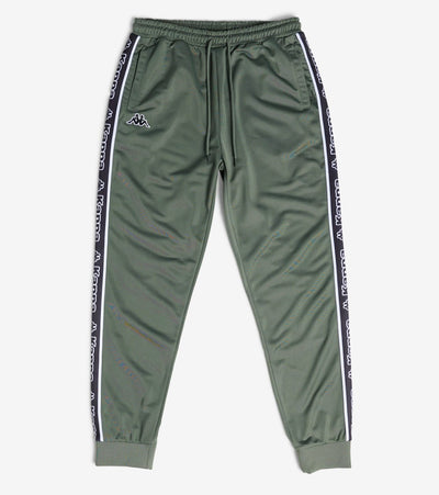 Kappa  Logo Tape Alic Track Pants Open Bottom  Green - 304M5W0-918 | Jimmy Jazz
