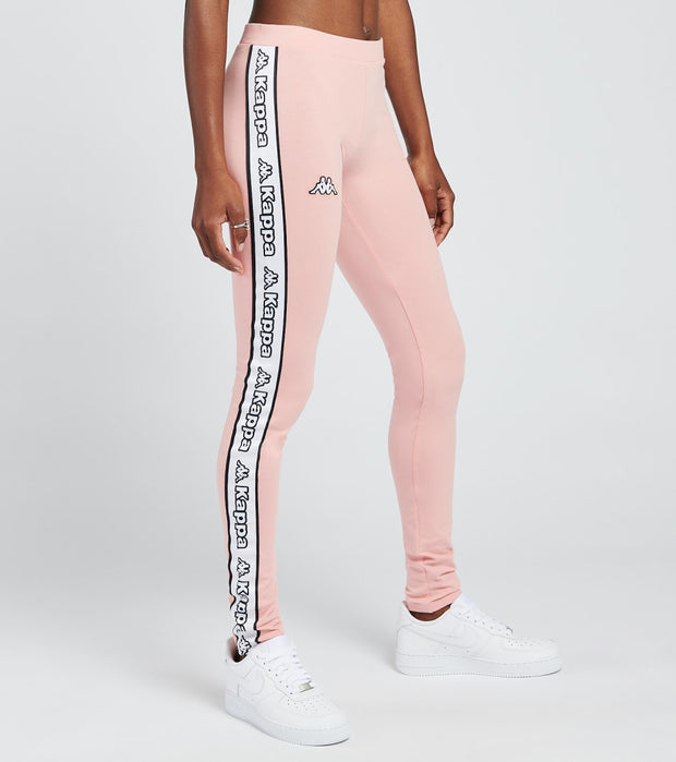 Kappa  Logo Tape Arivo Leggings  Pink - 304M6L0-920 | Jimmy Jazz