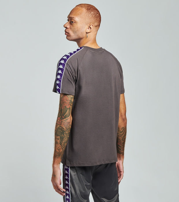 Kappa  222 Banda Balima Short Sleeve Tee  Grey - 304NQ00-A0Q | Jimmy Jazz