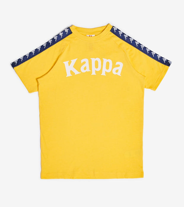 Kappa  222 Banda Balima Tee  Yellow - 304NQ00-B2B | Jimmy Jazz