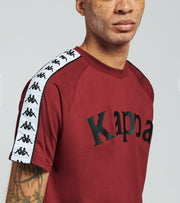 Kappa  222 Banda Balima Short Sleeve Tee  Red - 304NQ00-BY6 | Jimmy Jazz