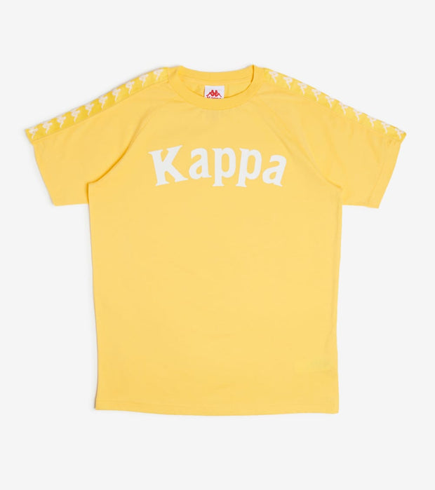 Kappa  222 Banda Balima Tee  Yellow - 304NQ00-C62 | Jimmy Jazz