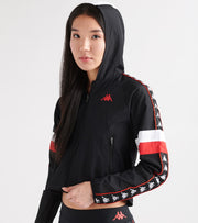 Kappa  222 Banda Bellanta Jacket   Black - 304QVG0-938 | Jimmy Jazz