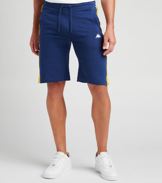 Kappa  222 Banda Marvz Flc Short  Blue - 304S2J0-A1C | Jimmy Jazz
