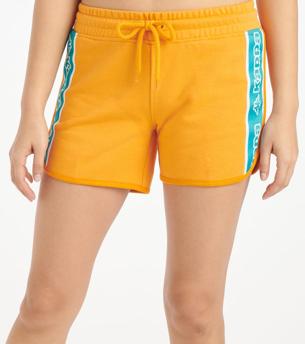 Kappa  Logo Tape Shorts  Orange - 304S2X0-930 | Jimmy Jazz