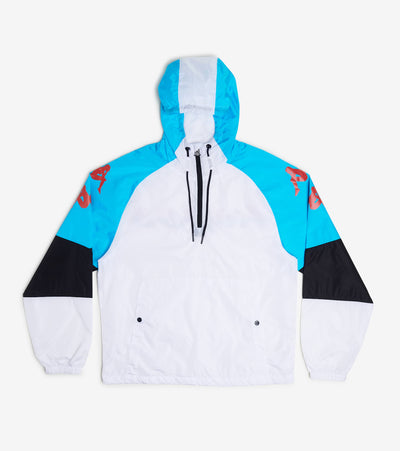 Kappa  Authentic Race Cedric Jacket  White - 304S340-911 | Jimmy Jazz