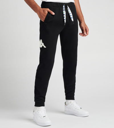 Kappa  Authentic Sand Crumb Joggers  Black - 304S4R0-A02 | Jimmy Jazz