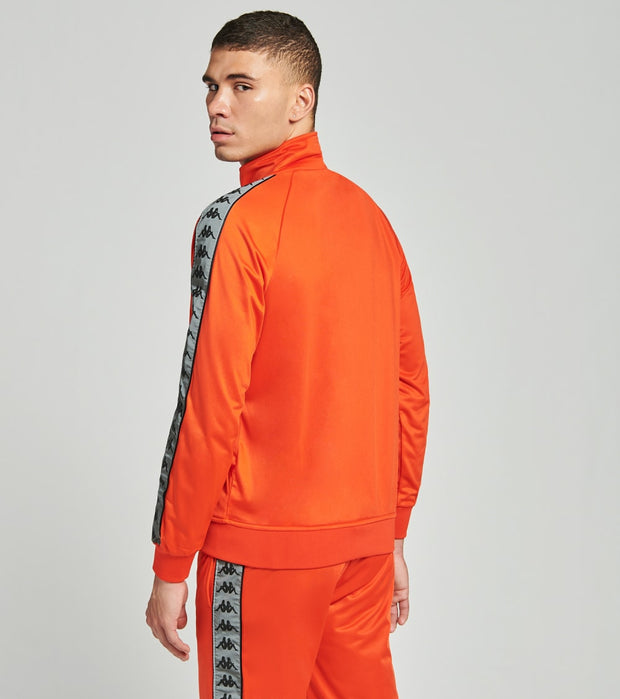Kappa  222 Banda Joseph Reflective Track Jacket  Orange - 304UPN0-BYO | Jimmy Jazz