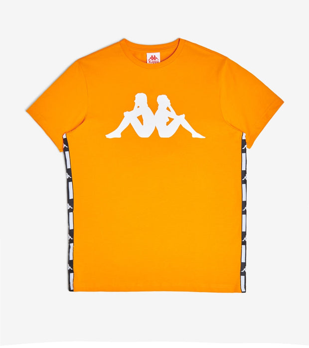 Kappa  Authentic La Barwa 2 Tee  Orange - 304VSL0-A0L | Jimmy Jazz