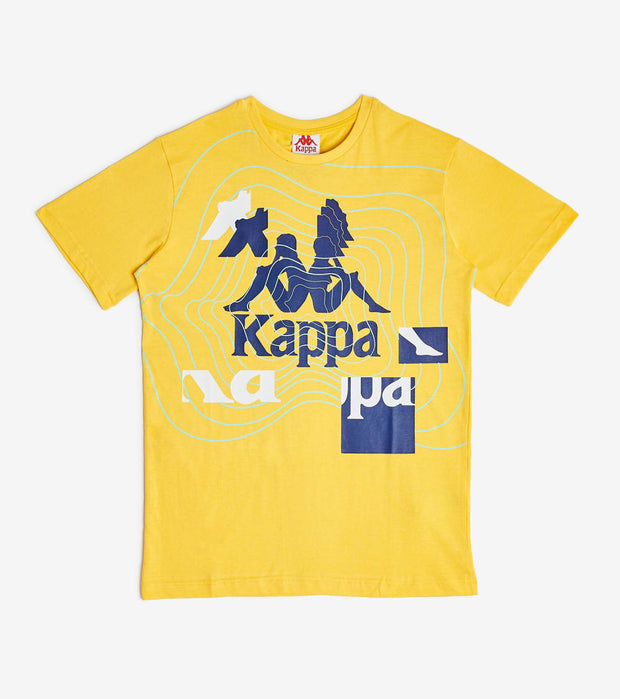 Kappa  Authentic Sand Calor Tee  Yellow - 304VZC0-915 | Jimmy Jazz