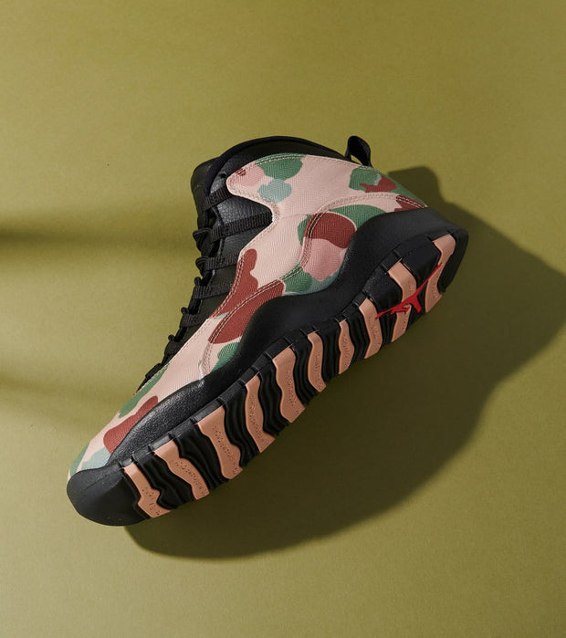 "Jordan  Air Jordan Retro 10 ""Desert Camo""  Black - 310805-200 