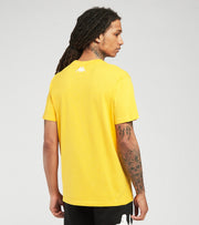 Kappa  Pop Esazar RF Short Sleeve Tee  Yellow - 3116E5W-A04 | Jimmy Jazz