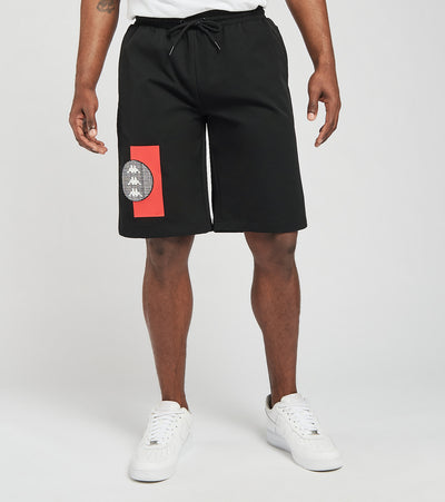 Kappa  Erik Nylon Shorts With Mesh Pocket  Black - 3116FNW-A04 | Jimmy Jazz