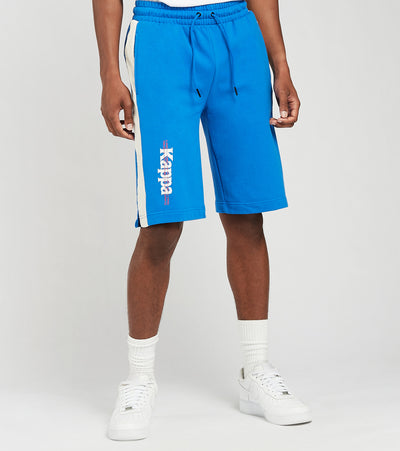 Kappa  Eloss Fleece Shorts With Reflective Tape  Blue - 3116FRW-A05 | Jimmy Jazz