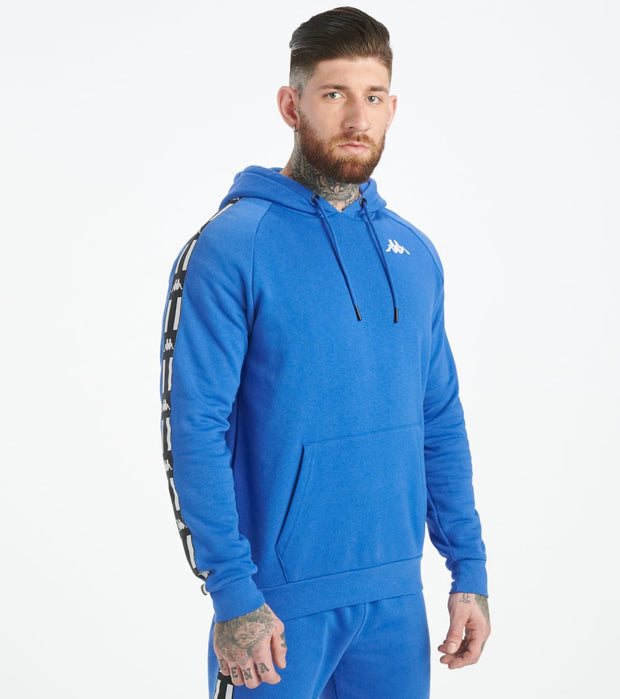 Kappa  Authentic La Aster Hoodie  Blue - 3117DQW-A08 | Jimmy Jazz