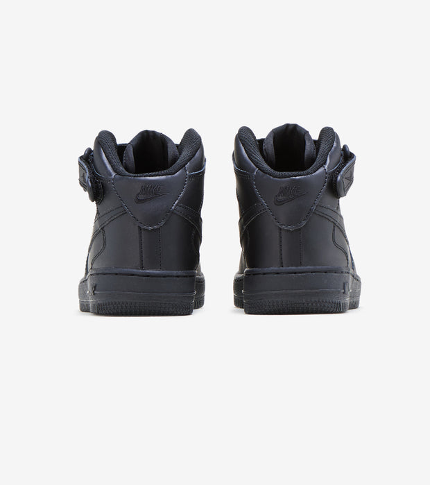 Nike  AIR FORCE 1 MID SNEAKER  Black - 314196-004 | Aractidf