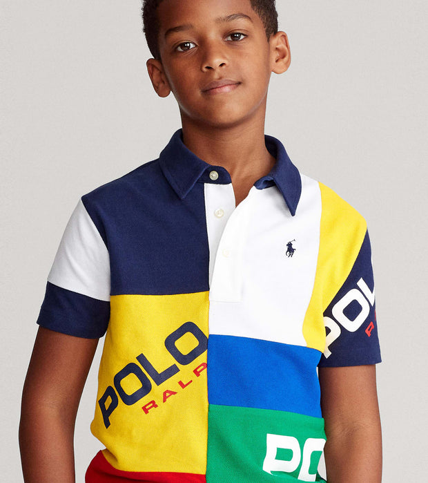 Polo Ralph Lauren  Patch Polo Basic Knit Short Sleeve  White - 323785884001 | Jimmy Jazz