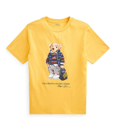 Polo Ralph Lauren  Boys Polo Bear Backpack Basic Tee  Gold - 323799045001 | Jimmy Jazz