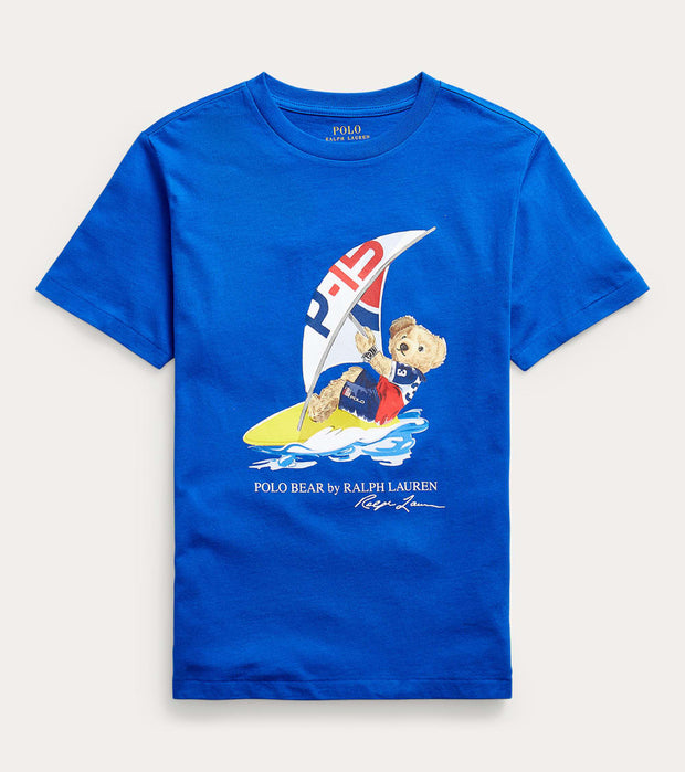 Polo Ralph Lauren  Polo Bear Sailing Short Sleeve Tshirt  Blue - 323838249002 | Jimmy Jazz