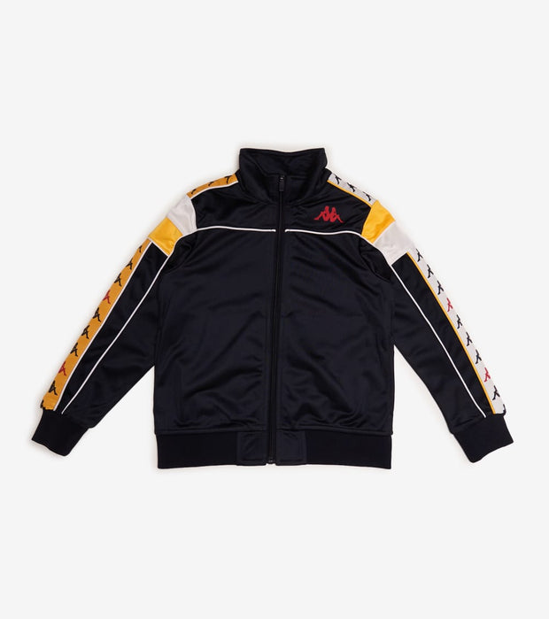 Kappa  Boys 222 Banda Difo Track Jacket  Black - 331169WY-A21 | Jimmy Jazz