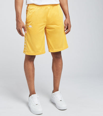 Kappa  222 Banda Treadwellzin Trico Shorts  Yellow - 34144SW-A6K | Jimmy Jazz