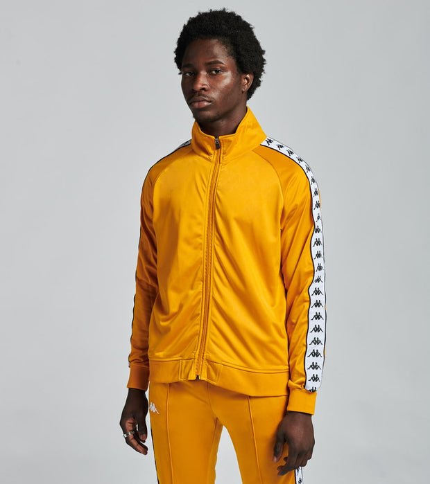 Kappa  222 Banda Anniston Track Jacket  Yellow - 3502050-BY3 | Jimmy Jazz