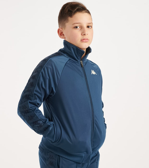 Kappa  Boys 222 Banda Anniston Jacket  Navy - 3502050Y-A1A | Jimmy Jazz