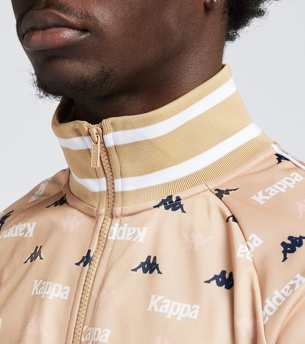 Kappa  Authentic Kaspio Track Jacket  White - 351213W-A05 | Jimmy Jazz