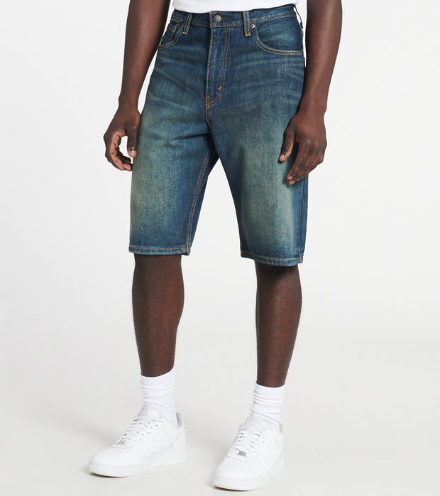 Levis  569 LOOSE STRAIGHT FIT SHORT  Blue - 35569-0174 | Jimmy Jazz