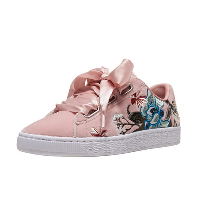 Puma  Basket Heart Hyper  Pink - 366116-02 | Jimmy Jazz