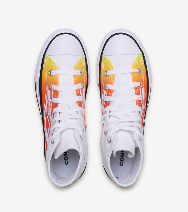 Converse  Archive Flame Chuck HI  White - 366196F | Jimmy Jazz