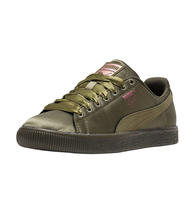 Puma  CLYDE SATIN JR  Green - 367469-03 | Jimmy Jazz