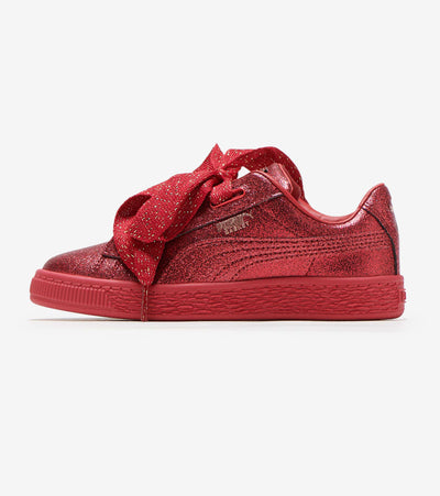 Puma  Basket Heart Glam  Red - 367631-01 | Jimmy Jazz