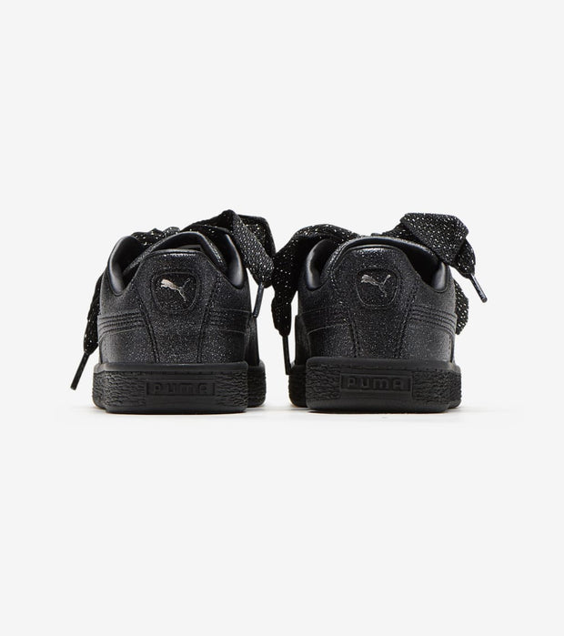 Puma  Basket Heart Glam  Black - 367631-02 | Jimmy Jazz