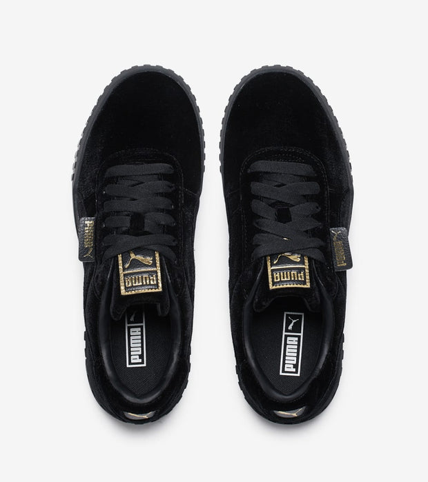 Puma  Cali Velvet  Black - 369887-02 | Jimmy Jazz
