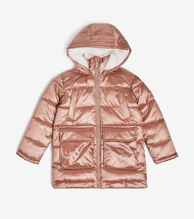 Nike  Girls' Polyfil Parka  Brown - 36D293G-R4P | Jimmy Jazz