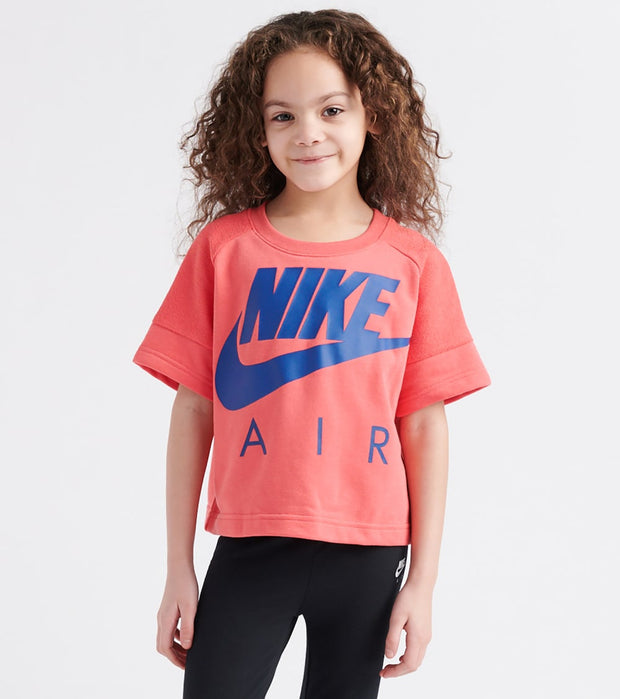 Nike  Crop Air Crew Sweatshirt  Pink - 36E644-R26 | Jimmy Jazz