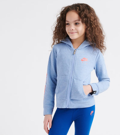 Nike  Air Full Zip Hoodie  Blue - 36E719-U2V | Jimmy Jazz