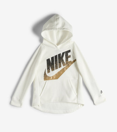 Nike  Girls NSW Shine Pullover Hoodie  White - 36F886-782 | Jimmy Jazz