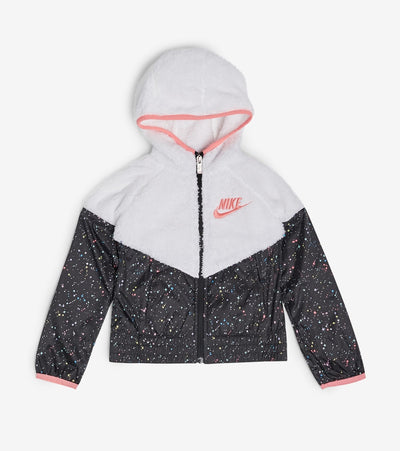 Nike  Girls Windrunner Jacket  White - 36F941G-001 | Jimmy Jazz